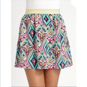 Lilly Pulitzer Coy Skirt In Crown Jewels Size S